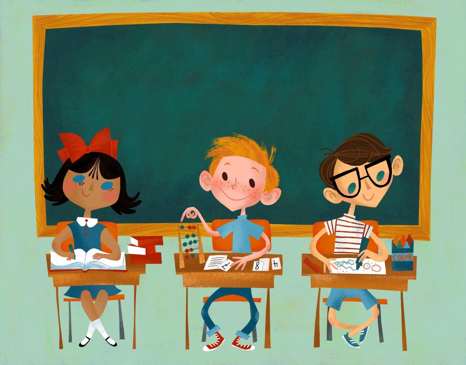 картинка про классы в школе элемент вязания спицами